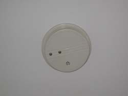 lighted smoke detector lights