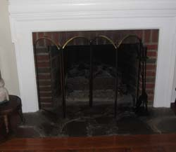 safe fire place screen