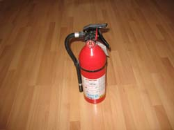 large fire extinguisher