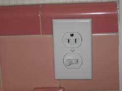 safe outlet with switch