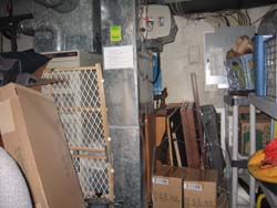 unsafe storage around